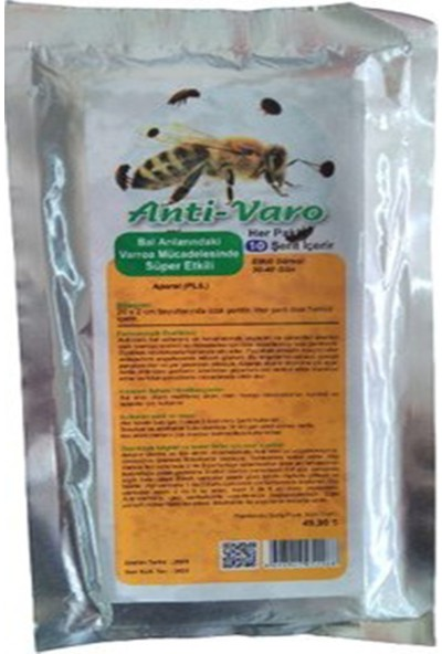 Atarlar Bal Atarlar Arıcılık Anti Varo Varroa Şerit (5 Paket)