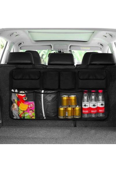 Ankaflex Araba Araç Oto Içi Eşya Alet Bagaj Düzenleyici 8'li Organizer Çanta