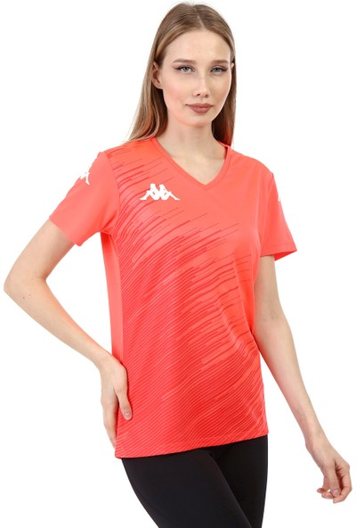 Kappa Kadın Poly T-Shirt Abuw Orange