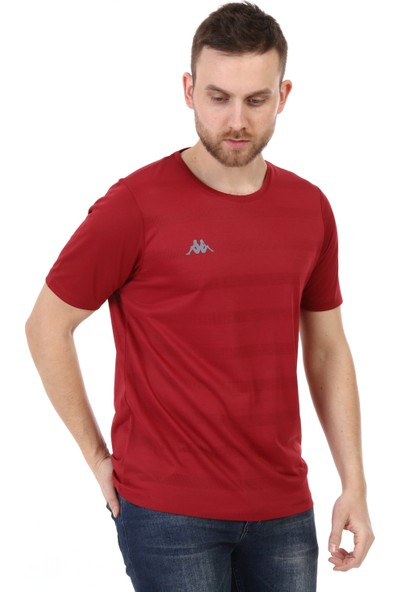 Kappa Poly T-Shirt Zaltal Bordo