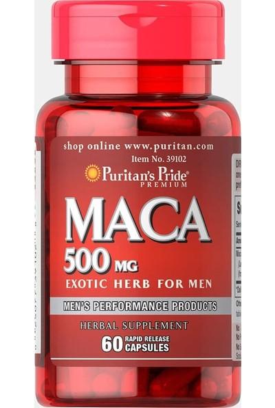 Puritans Pride Maca 500 mg 60 Rapid Kapsül