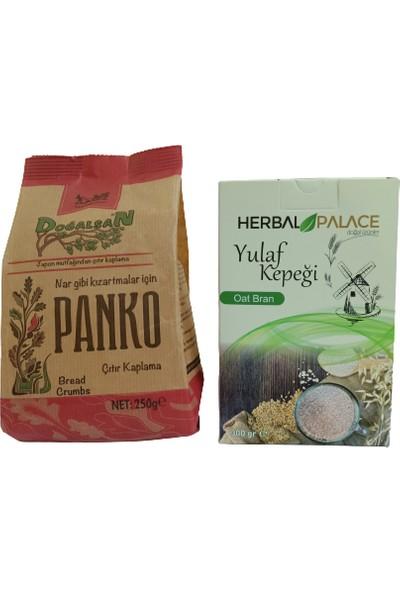 Doğalsan Panko Çıtır Kaplama + Herbal Palace Yulaf Kepeği