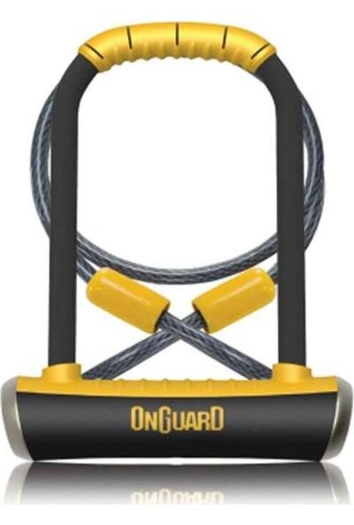 Onguard 8005 Pıtbull Dt 10X120 Kablolu Anahtarlı U Kilit