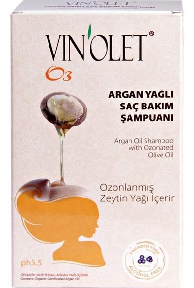 Vinolet Arganyağlı Saç Bakım Şampuanı 350 ml