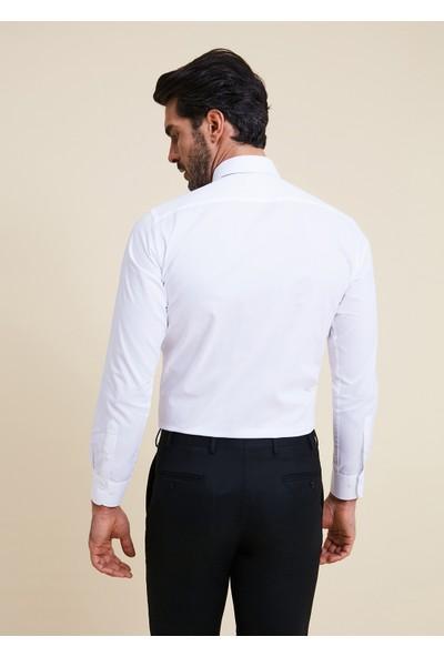 Bisse Regular Fit Düz Klasik Gömlek