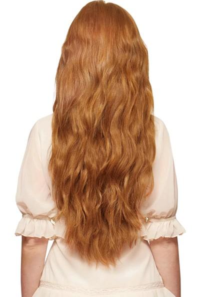Belle Doğal Kızıl Çıt Çıt Saç