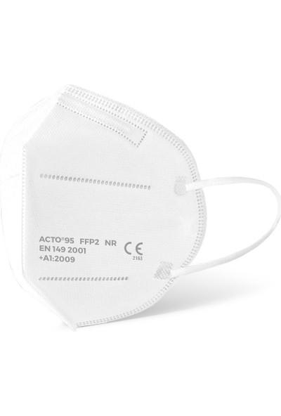 Acto Acto® 95 Ffp2 / N95 Respiratory Mask | 5 Katlı Solunum Maskesi 1 Adet