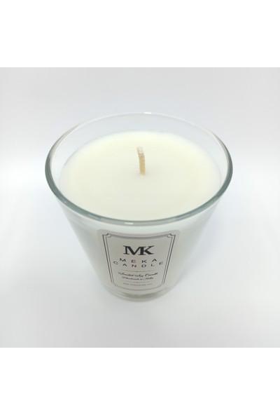 Meka Candle Kahve Kokulu Soya Mumu, Dekoratif ve Hediyelik Bardak Mum - 400 gr