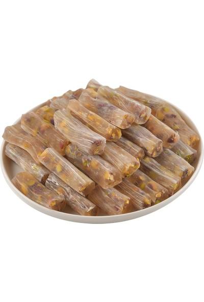 Bayburt Kuruyemiş Fıstıklı Fitil Lokum 500 gr
