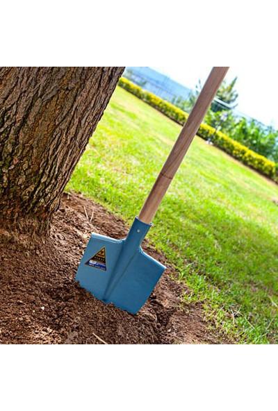 Yenal 3211 Az Sivri Bel Küreği Bahçe Kürek Mavi