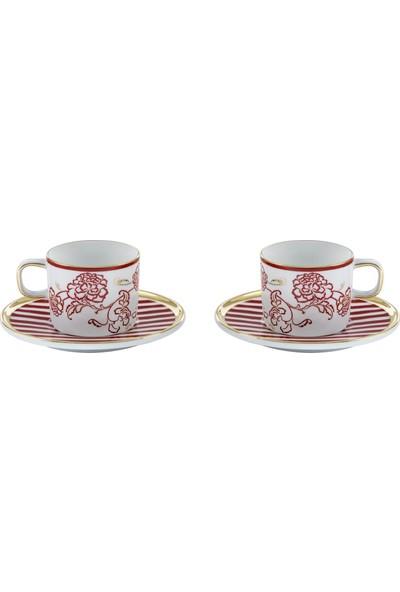 Güral Porselen Güral El Dekoru Türk Kahvesi Takımı