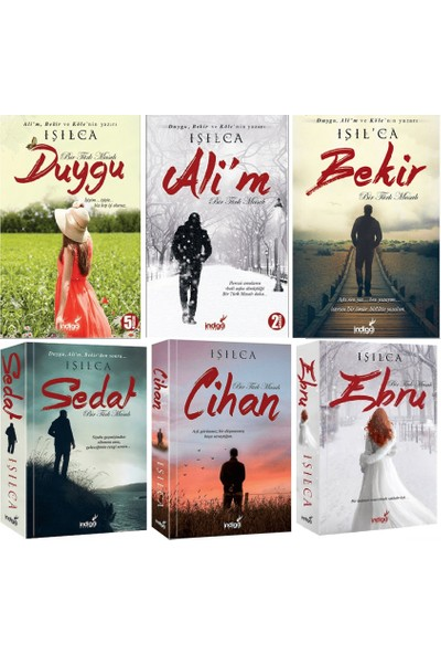 Bir Türk Masalı Serisi 6 Kitap Set Işılca (Duygu, Ali'm, Bekir, Sedat, Cihan, Ebru)