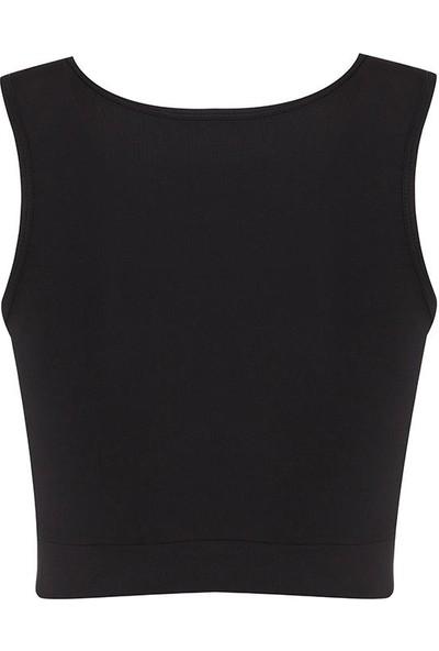 New Balance Kadın Siyah Bra Spor Sütyeni WPT1119-BK