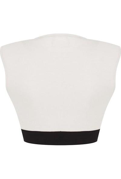 New Balance Kadın Beyaz Bra Spor Sütyeni WPT1103-WT