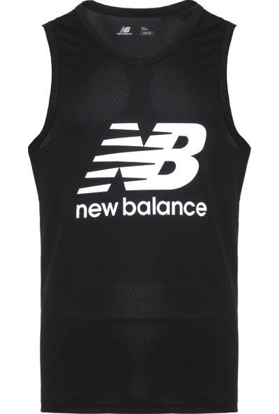 New Balance Erkek Siyah Atlet T-Shirt MPT1123-BK