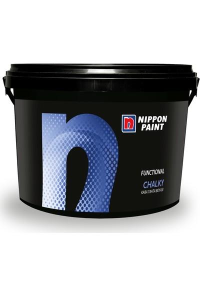Filli Boya Nippon Paint Chalky Kara Tahta Boyası Siyah 0,75 Lt