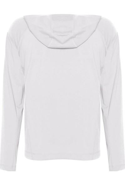 New Balance Kadın Beyaz Sweatshirt WTH1961-WT