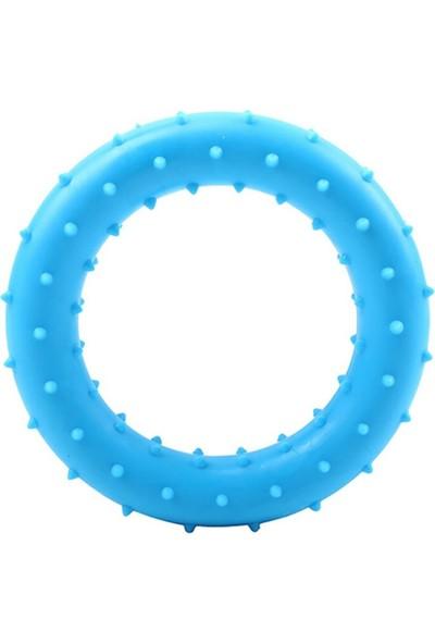 Mixpet Yuvarlak Şekilli Köpek Diş Kaşıyıcı 8 cm Mavi