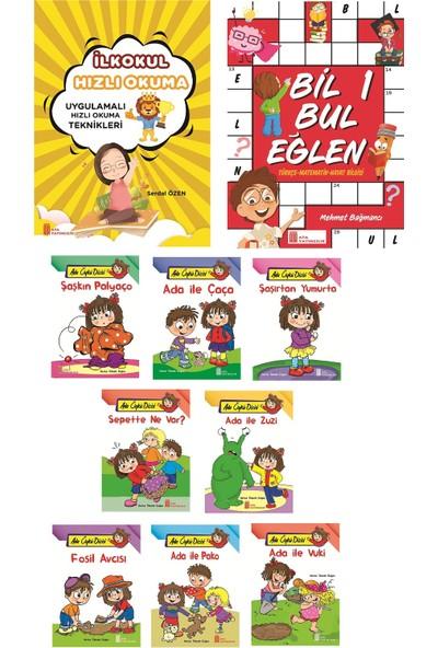 Ata Yayıncılık 1. Sınıf Hızlı Okuma+Bil Bul Eğlen+ 8 Li Büyük Hikaye Seti