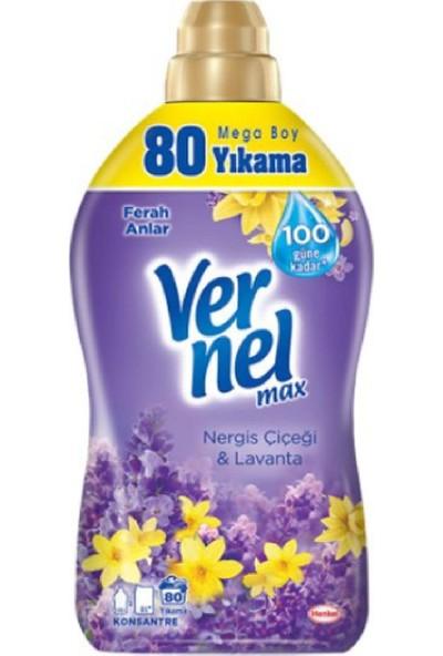 Vernel Max Yumusatıcı 1920 ml Nergıs & Lavanta