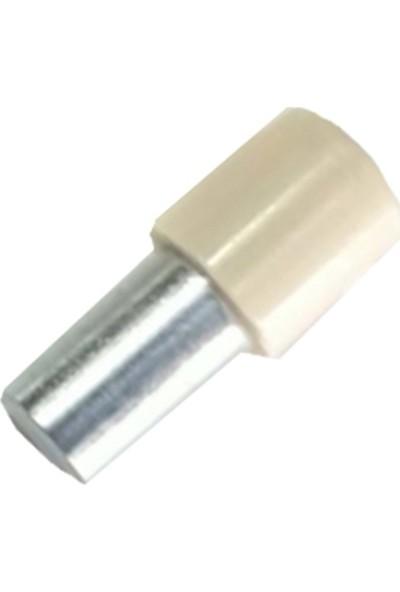 Metali Pls. Başlı Metal Geçmeli Raf Pimi Krem 1000 Adet