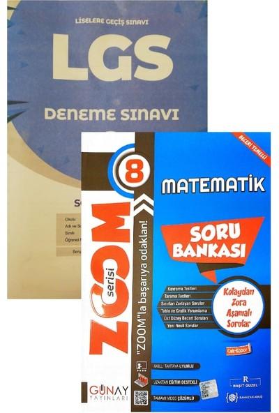 Günay Yayınları Zoom Serisi 8. Sınıf Matematik Soru Bankası (Muba Denemeli)