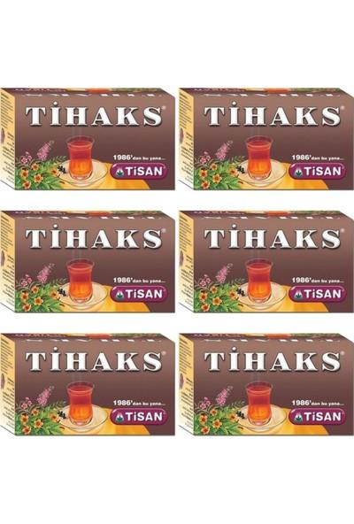 Tisan Tihaks Karışık Bitki Çayı 20 Süzen Poşet x 6