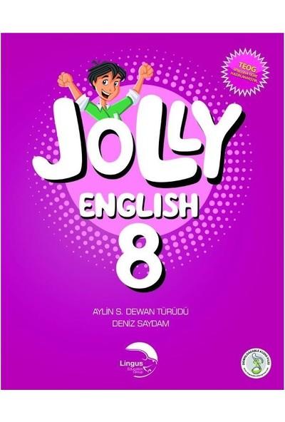 Lingus Education Group 8. Sınıf Ingilizce 2'li Kitap Seti ( 8. Sınıf Jolly English Work-Notebook ve Jolly English Book)