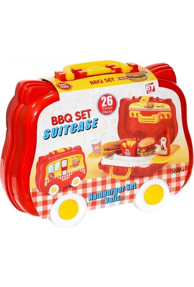 Bayraktar Plastik 564-BP Bbq Set Valiz