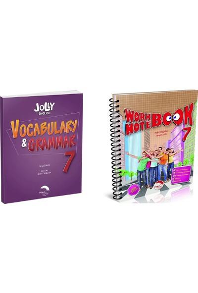 Lingus Education Group 7. Sınıf Ingilizce 2'li Kitap Seti ( 7. Sınıf Jolly English Work-Notebook ve Vocabulary&grammar Book)