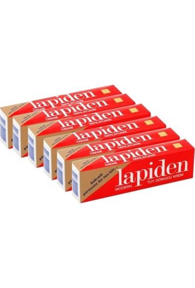 Lapiden Modern Tüy Dökücü Krem 40 gr 6 li