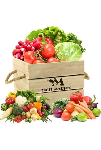 Mutlu Yöresel Organik Avantaj Meyve ve Sebze Paketi ( Orta )
