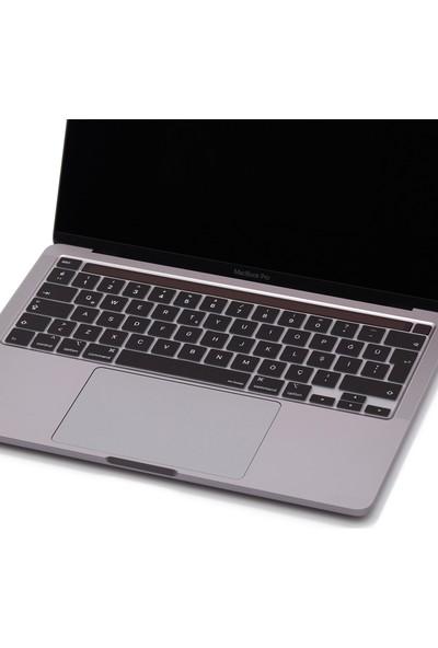 """Mcstorey MacBook Pro 16 Inch Klavye Koruyucu 16"""" A2141 Türkçe ve Avrupa Ingilizce Klavye Koruyucu"""