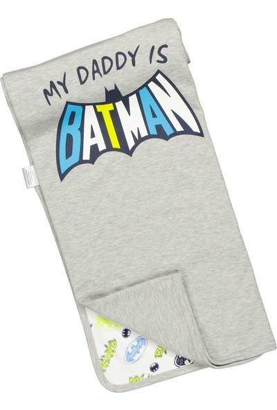 Batman Lisanslı Penye Battaniye 80X85CM 17296