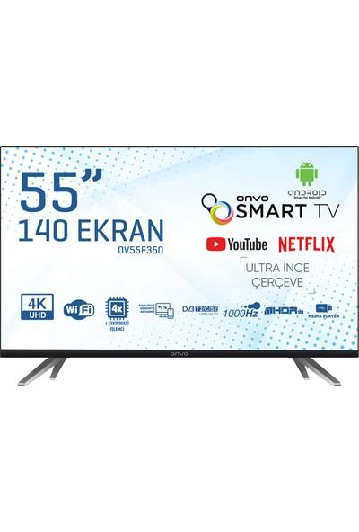"""Onvo OV55F350 55"""" 140 Ekran Uydu Alıcılı 4K Smart LED Tv"""