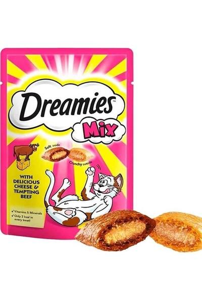 Dreamies Mix Sığır Etli ve Peynirli Kedi Ödülü 60 gr (24 Adet)