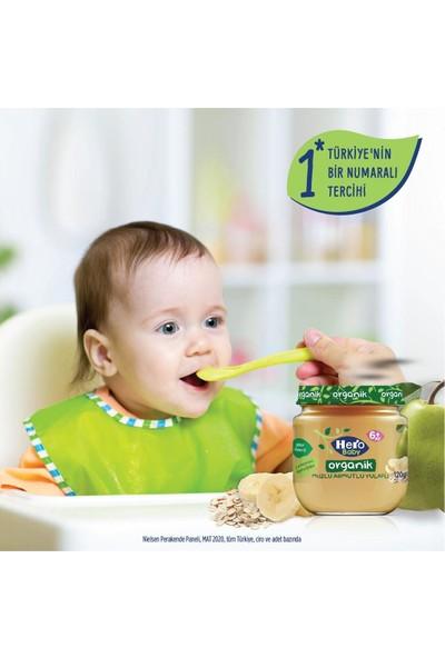 Hero Baby Muz Armut Yulaflı Kavanoz Mama 120 gr 12 Adet