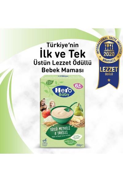 Hero Baby Sütlü Ballı Irmikli, Meyveli 8 Tahıllı ve Peynirli Pekmezli Kaşık Mama