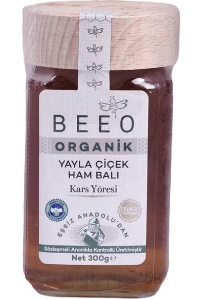 Bee'O Beeo Organik Yayla Çıçek Ham Balı Kars Yöresi 300GR