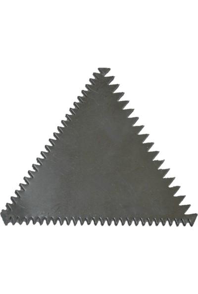 KAYALAR Alüminyum Şekillendirici Kesici Kazıyıcı, Kek Pasta Dekorasyon