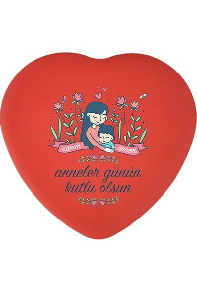 Sonar Anneler Günü Kalp Metal Kutu