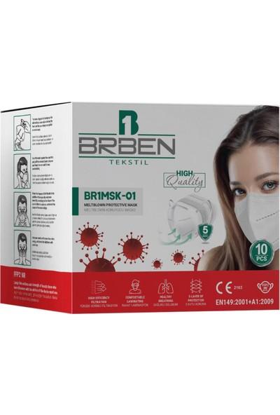 Brben 10 Adet N95 Maske