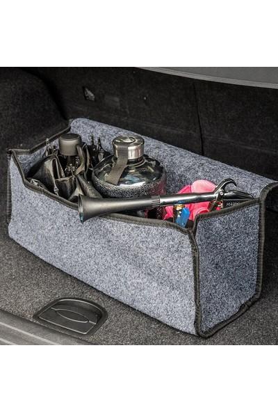 Shotex Renault Clio Hatchback Oto Bagaj Düzenleyici Araç Içi Organizer Keçe Bagaj Eşya Çantası