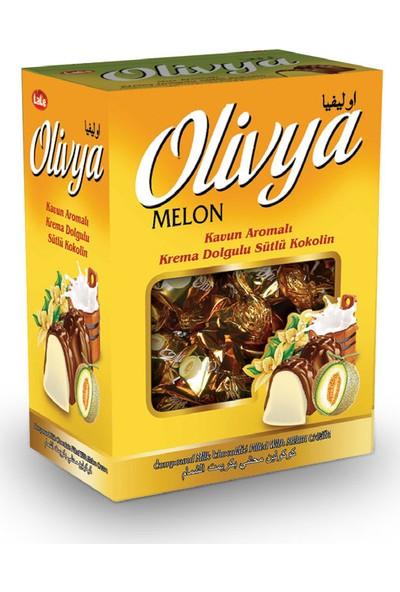 Lale Olivya Kavun Aromalı Krema Dolgulu Sütlü Kokolin Çikolata 500 gr