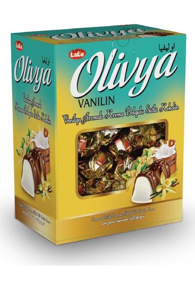 Lale Olivya Vanilya Aromalı Krema Dolgulu Sütlü Kokolin Çikolata 500 gr