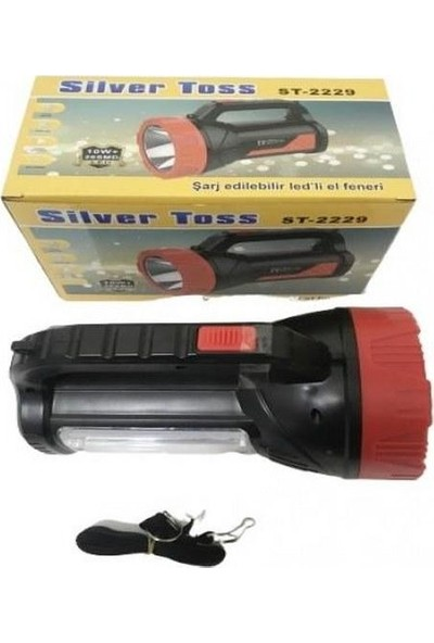 Silver Toss ST-2229 10 Watt + 26 Smd Led'li Işıldaklı Projektör