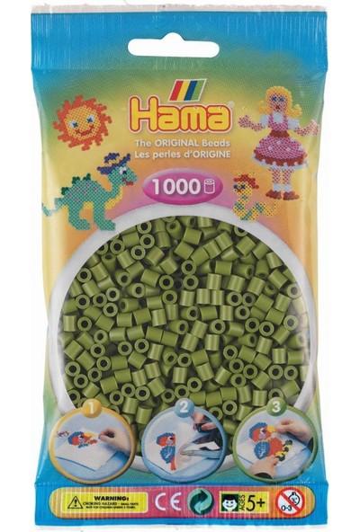 Hama 1.000'LIK Hama Midi Boncuk - Zeytin Yeşili
