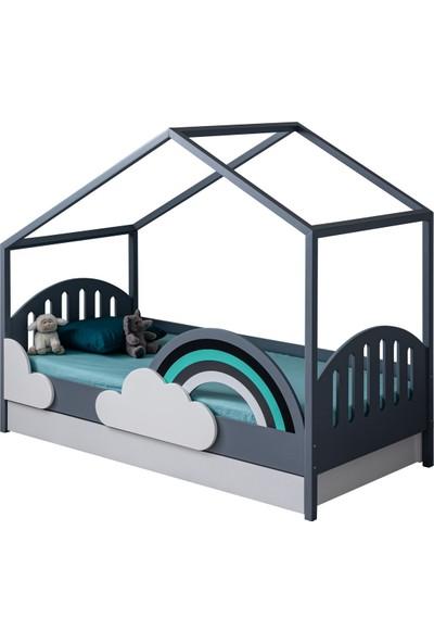 Setay Montessori Yatak, Bulut Montessori Yavrulu Karyola + 1 Adet Comfort Yatak