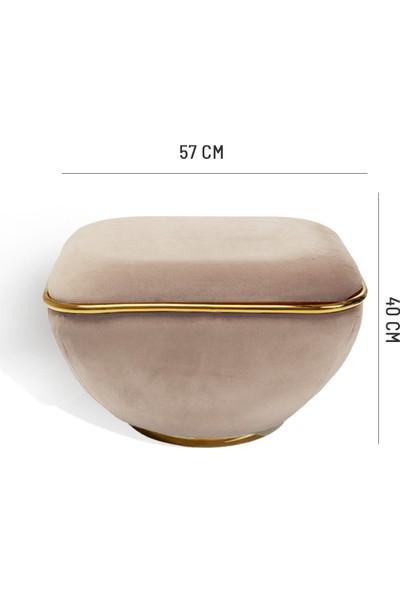Zem Lulu Cream - Gold Puf