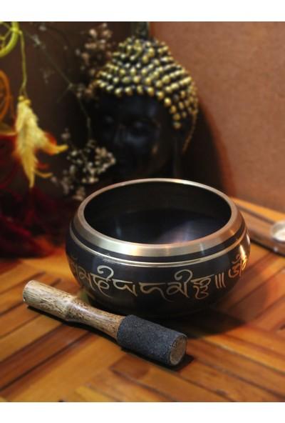 İlkay Consept Moda Meditasyon Çanı Yoga Çanı Tibet Çanağı Singing Bowl 9 cm